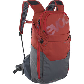 EVOC Ride 12 Backpack, chili red/carbon grey